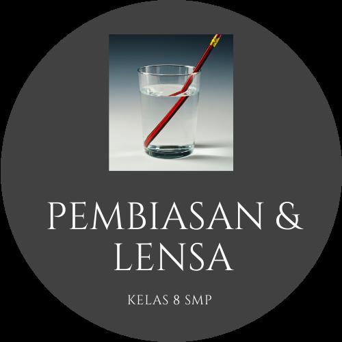 Fisika Kelas 8 - Pembiasan dan Lensa Cekung, Lensa Cembung